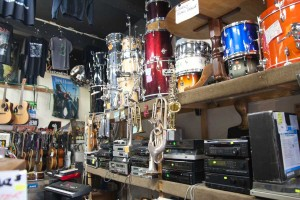 Huge range of drums at Soldas Music Hobart