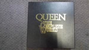 QUEEN THE COMPLETE WORKS 14 LPs MINT